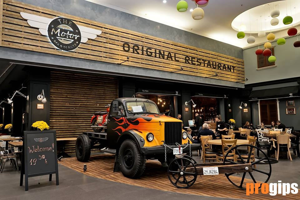 for Motor bar and restaurant